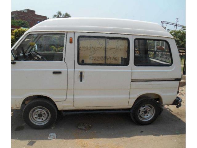 Suzuki Bolan Van White colour For Sale In Lahore