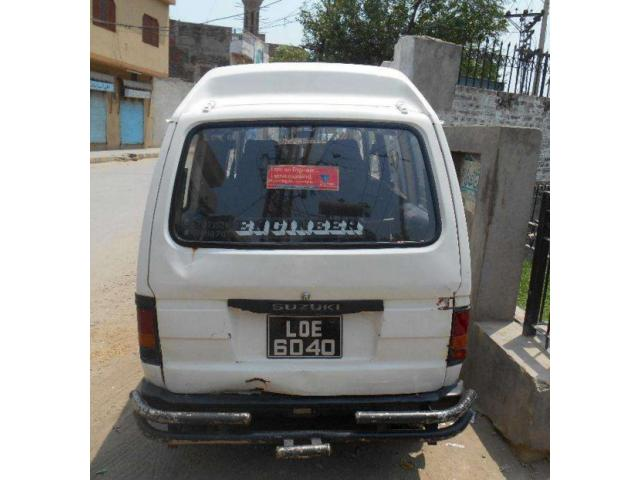 Suzuki Bolan Van White colour For Sale In Lahore