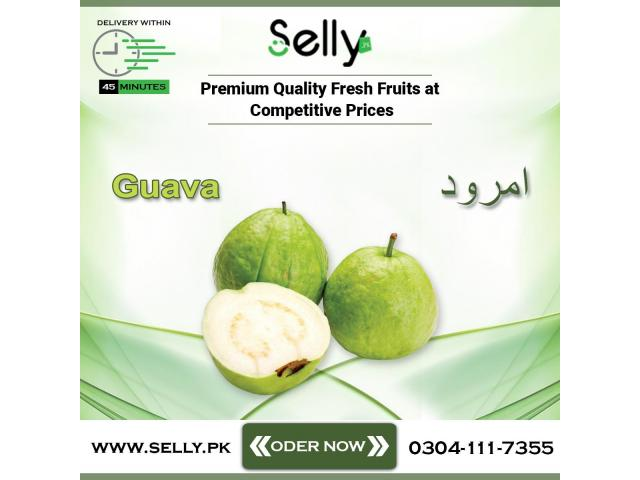 Buy Export Quality Guavas From Pakistan's No 1 Online Fruits Store