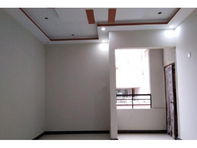 Brand New 2 Portions 1st & 2nd Floor 120 Sq Yard West Open For Sale