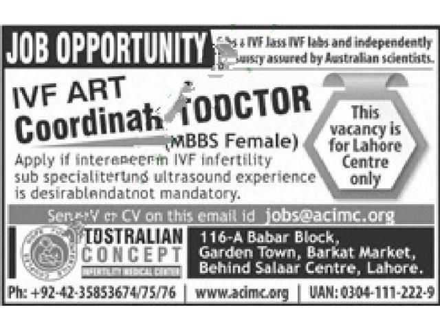 Australian Concept Lahore Jobs Apply Now Lahore - Local Ads