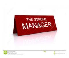 Genaral Manager Production Required For Poly star In Lahore