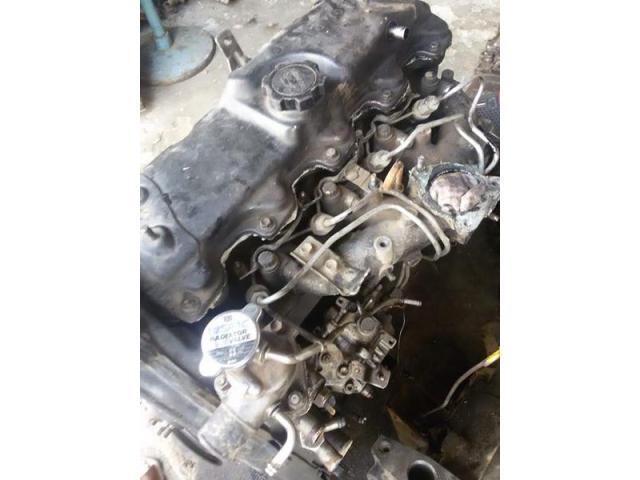 Diesel engine complete Toyota 2L 2446cc with clutch