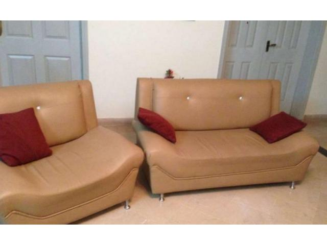 Sofa new design in good condition for sale in rawalpindi for Local furniture for sale