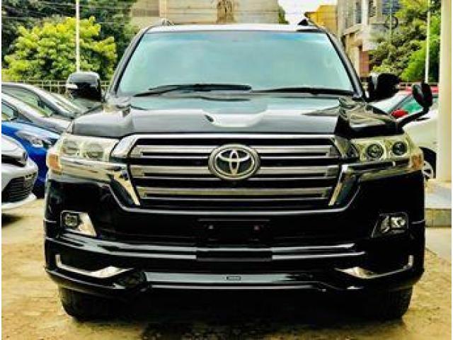Toyota Land Cruiser Ax V8 New Shape Facelift Engine Capacity 4 6