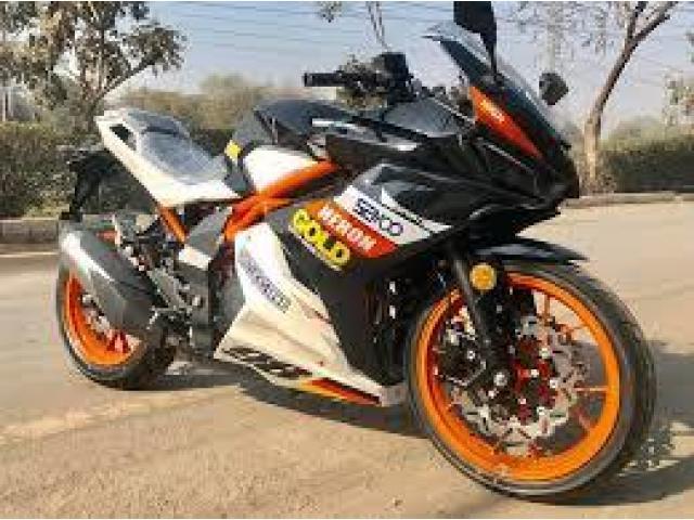 For sale New Valentino 350cc Heavy Bike Attractive Colors