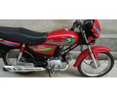 United Bike Model 2015 Red colour For Sale in Rawalpindi