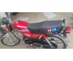 Super Star Motorcycle Model 2010 For Sale In  Swabi