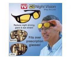 HD Vision Night Wraparounds Glasses For Sale In Peshawar
