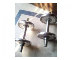 Dumbbells Set New 5 kg Weight For Sale In Islamabad