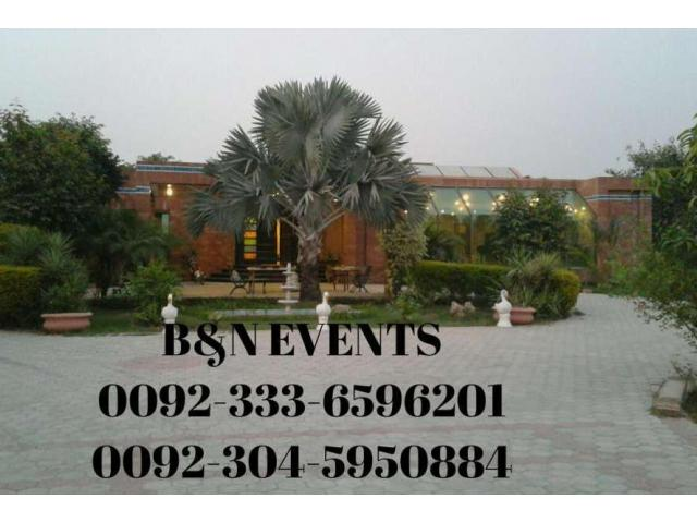 B&N Farms For Rent At Bedian Road Lahore