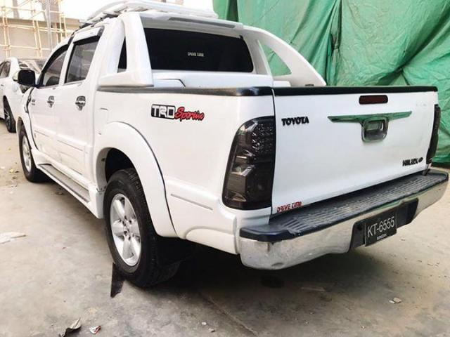 Toyota Hilux Vigo Thailand Model 2010 Registered 2014 White