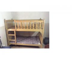 Bunk bed, Excellent Wood Neat And Clean For Sale In Islamabad