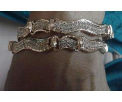 Bangles With White Stone Latest design For Sale In Karachi