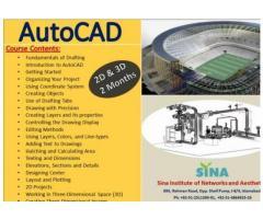 AutoCAD Classes Through SINA Institute In Islamabad