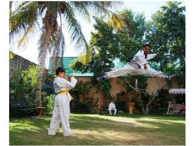 Martial Art,Taekwondo Classes by Master Samey Khan In Karachi