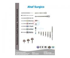 Dental Implants Instruments, Tools