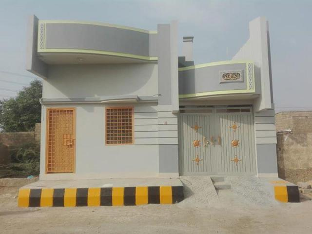 Brand new house for sale 120 square yard lease Single story