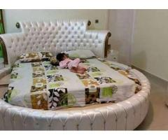 New Round bed Beautiful Design Latest Model For sale In Karachi