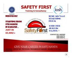 NEBOSh IGC And IOSH Classes Complete Course In Karachi