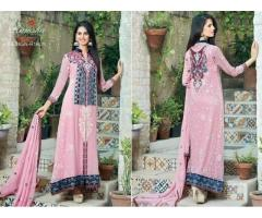 Ladies Readymade  Designer Embroidered Chifoon Suits