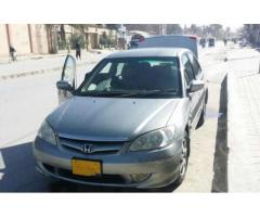 Honda Civic EXI Model 2005 New Tyre For Sale In Quetta