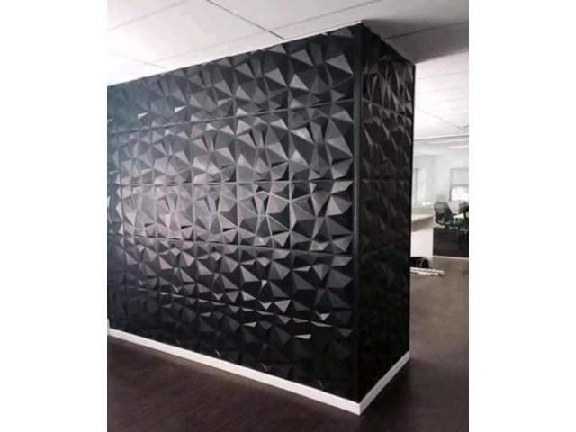 3D Pvc wall panels Size: 22