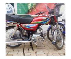 United Bike Model 2014 Almost New for Sale in Multan