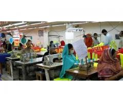Workers Staff Required For Garments Factory In Karachi