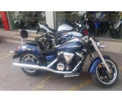 Yamaha Vstar Model 2013 Blue Color For Sale In Lahore