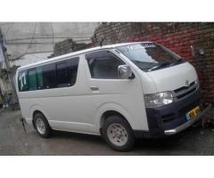 Toyota Hiace AC Registered In 2016 For Sale in Islamabad