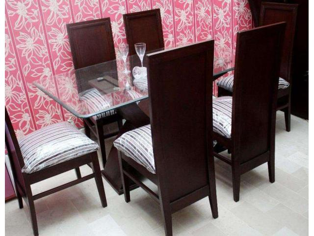 Dining Table with Six Chairs Latest Design For Sale In Karachi ...