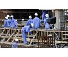 Labor Staff Required For Dubai Construction Company -Lahore