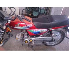 Honda Cd 70 Model 2014 In Excellent Condition For Sale in Islamabad