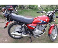 Suzuki 150 cc Model 2015 Almost New Red Color for Sale in Gujranwala