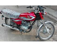 Honda 125 Model 2014 Original Pictures Uploaded For Sale In Lahore