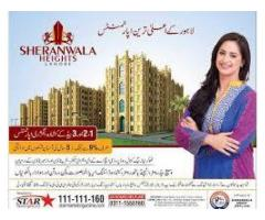 Sheranwala Heights Lahore Residential Apartments,Payment Plans