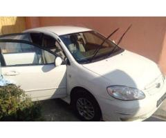 Toyata Corolla Model 2002 Powerful Engine For Sale in Abbottabad