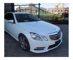 Mercedes Benz E Class White Color For Sale in Lahore