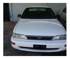 Toyota Corolla Model 1993 White Color For Sale in Peshawar