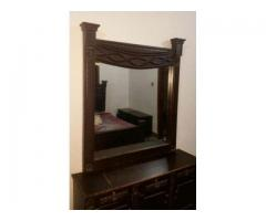 Complete Wooden Bedroom Set Cheap Rate For Sale In Karachi