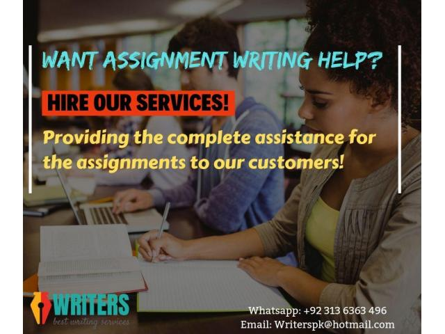 assignment writing services in pakistan best