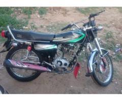 Honda 125 Model 2013 In Very Good condition For Sale in Gujrat