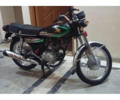 Honda CG 125 Black Color Model 2012 for Sale In Karachi
