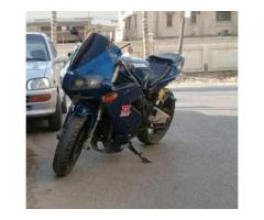 Suzuki Sport Bike 500 cc Blue Color For Sale in Karachi