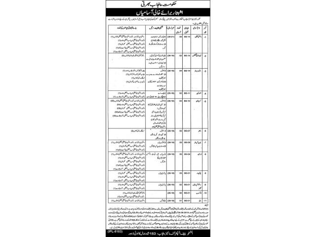 Mines & Minerals Department Lahore Jobs 2019 APPLY NOW