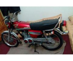 Honda 125 Model 2012 red color For Sale In Peshawar