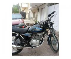Suzuki Bike 150 cc Model 2012 black Color For Sale In Hyderabad
