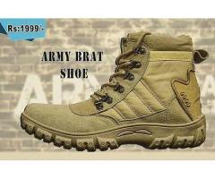 Army Brat Shoes Limited Edition Free Deliver in Pakistan