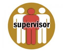 Supervisor and Area Manager Required For Company In Lahore
